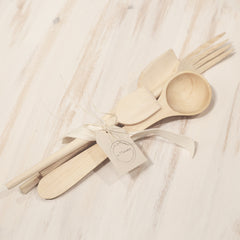 Essential Wood Utensil Set