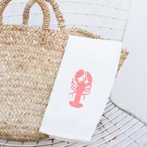 A la Mar Tea Towel - Lobster