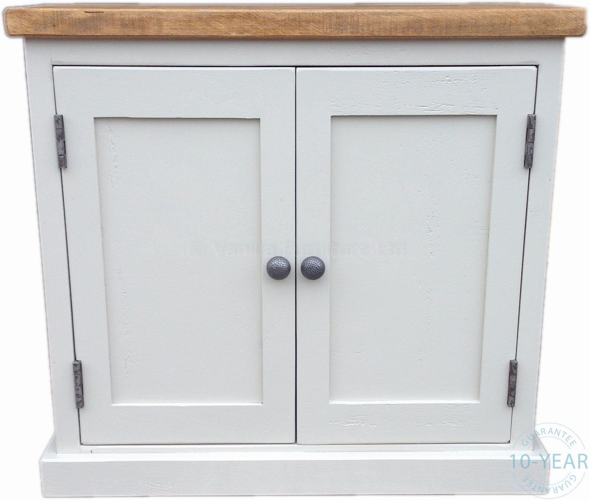 A Painted Plank 2 Door Cabinet Vanilla Furniture