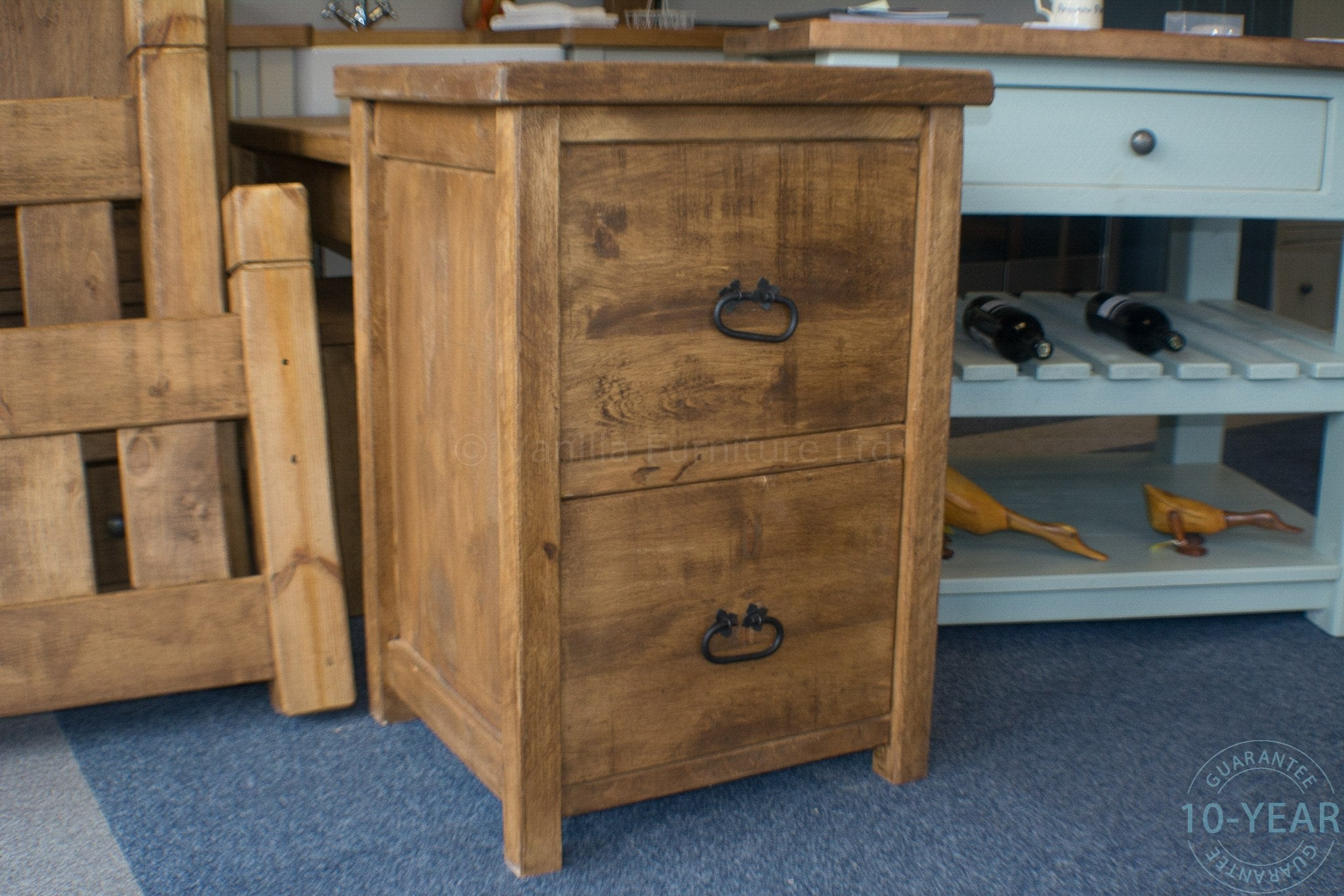 pallet a with filing cabinet retro and file top reclaimed hand store rustic wendy wood painted drawers