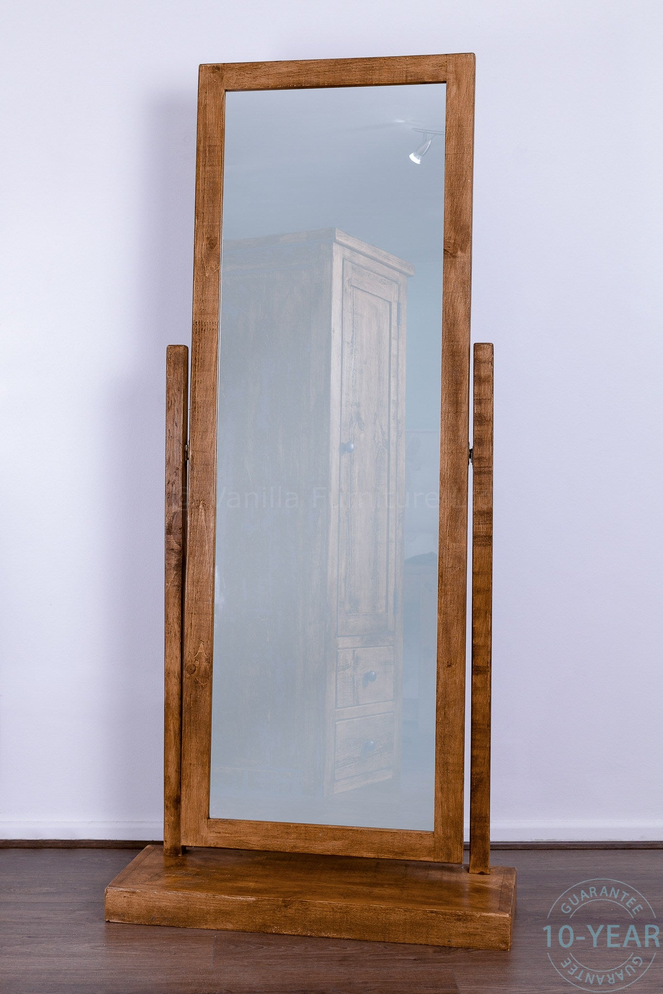 full length standing mirror A Rustic Plank Cheval Mirror   Vanilla Furniture full length standing mirror