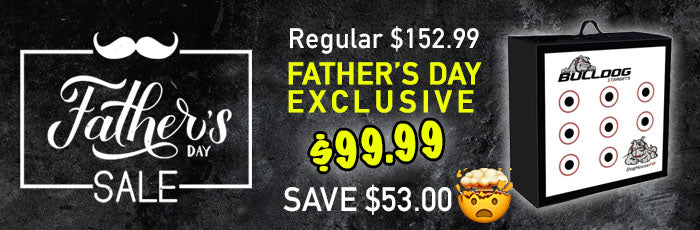 Father's Day Archery Target Special