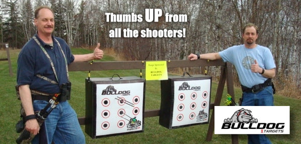 Thumbs up from all of the shooters