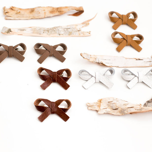 Autumn  Ballet Bow Piggy Clip// Pick Your Color