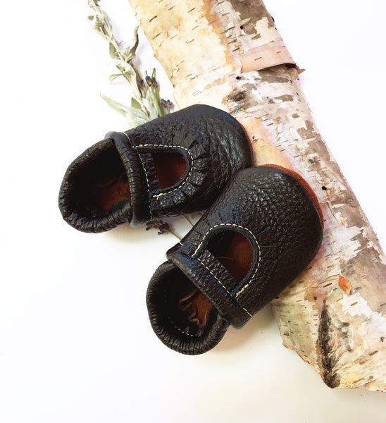 Black Mary Jane MOCCS Baby and Toddler