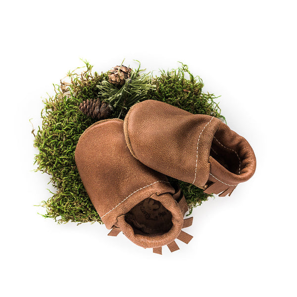 Tribe Leather Moccs Shoes Baby and Toddler