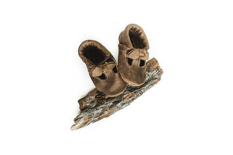 BOW Lodge T-Straps Baby and Toddler