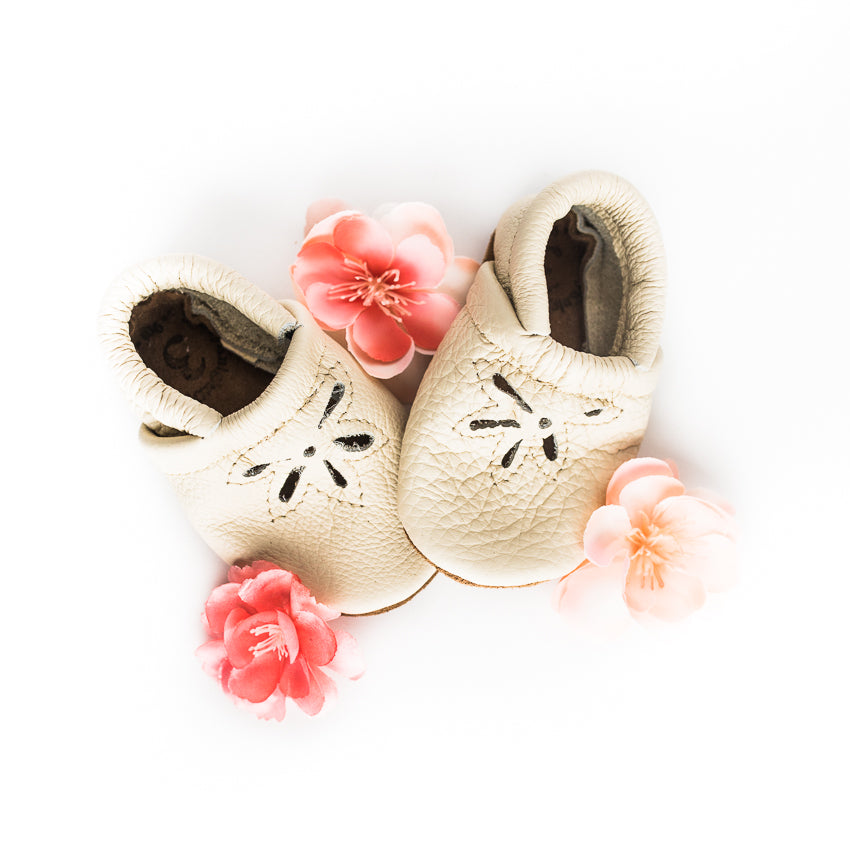 Cream DAISY SANDALS Shoes Baby and Toddler