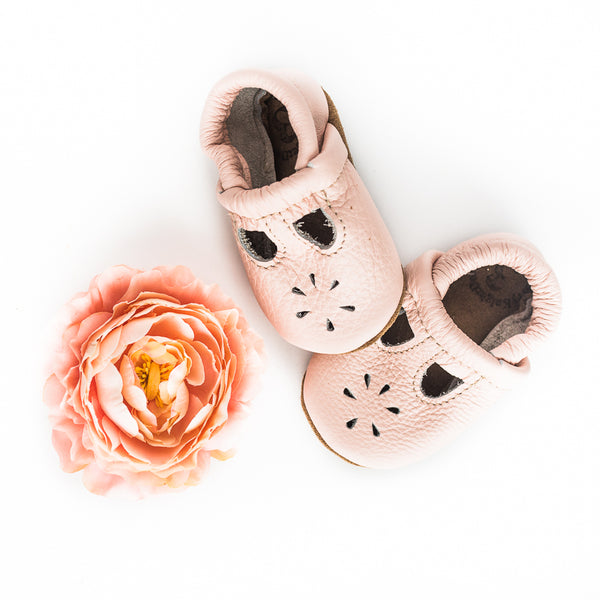 Rose  Blush T-Strap Shoes Baby and Toddler
