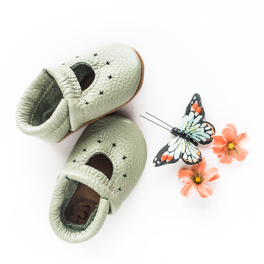 Tea Green STARRY JANES Baby and Toddler