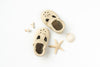 Cream T-Strap Shoes Baby and Toddler