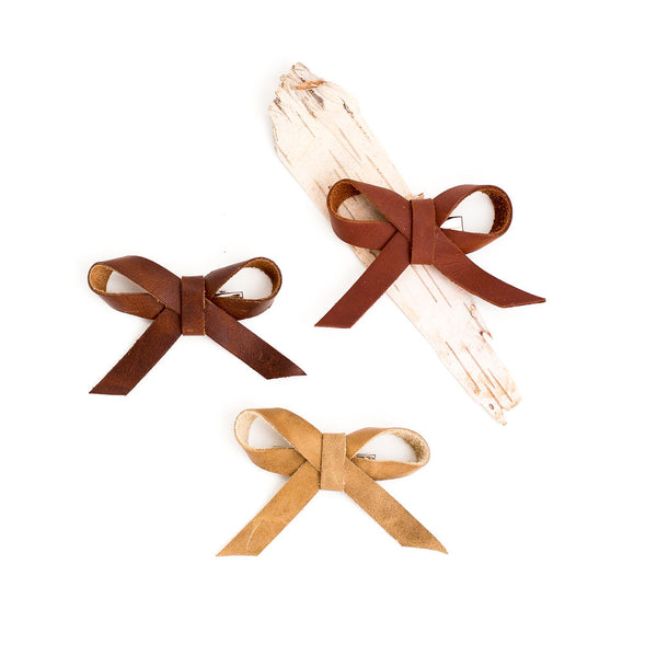 Earth Fall Large Ballet Bow Clip// Pick Your Color