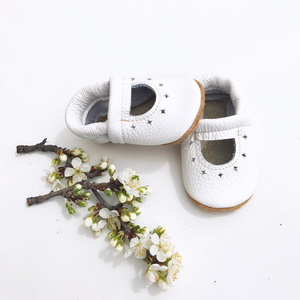 White STARRY JANES Baby and Toddler