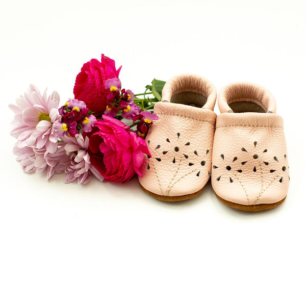 Rose Blush BLOSSOMS Shoes Baby and Toddler
