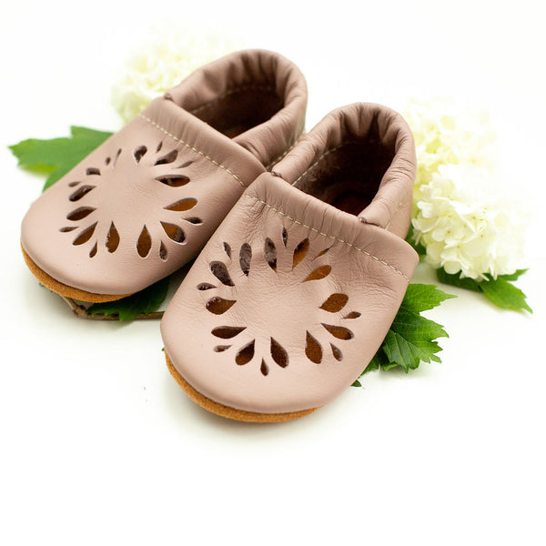 Dusty Rose DAHLIA Shoes Baby and Toddler