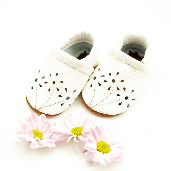 White BLOSSOMS Shoes Baby and Toddler