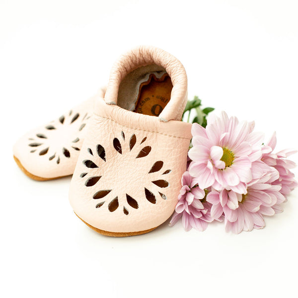 Rose Blush DAHLIA Shoes Baby and Toddler
