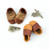 Two Tone Loafer Baby and Toddler Shoes( Honey/Cedar, Cedar/Fawn)
