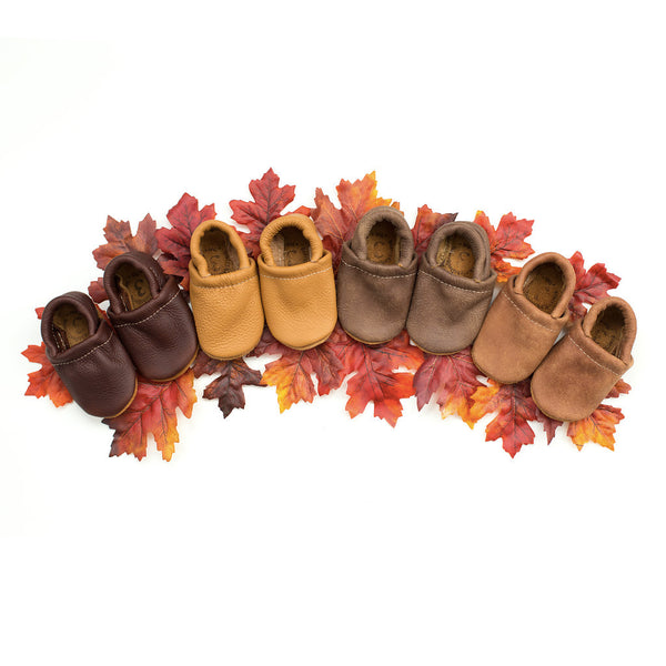 Loafer Baby and Toddler Shoes( Ebony, Camel, Lodge, Tribe)