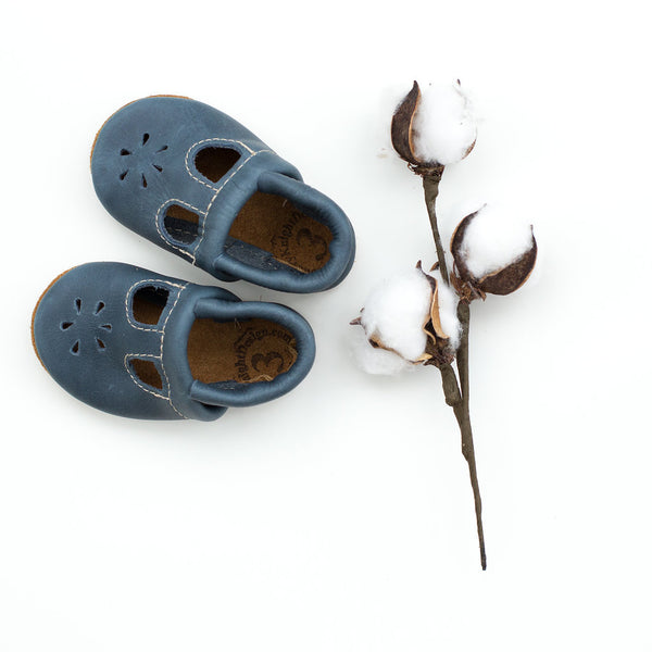 Denim T-Strap Shoes Baby and Toddler