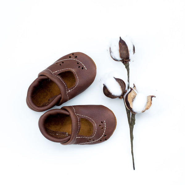 Walnut Ivy Janes Shoes Baby and Toddler
