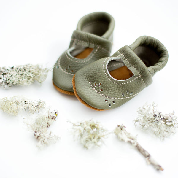 Moss Ivy Janes Shoes Baby and Toddler