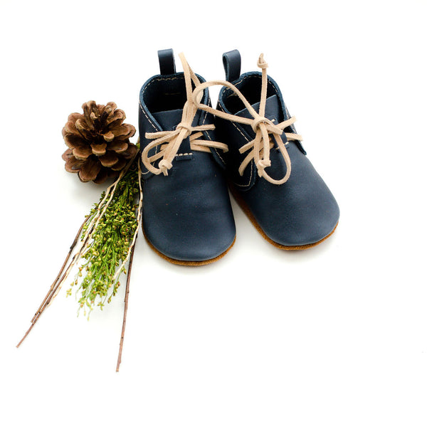 Denim LACE UP BOOTIES Baby and Toddler