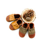 Two Tone Loafer Baby and Toddler Shoes( Brandy/Caramel, Cedar/Sage)