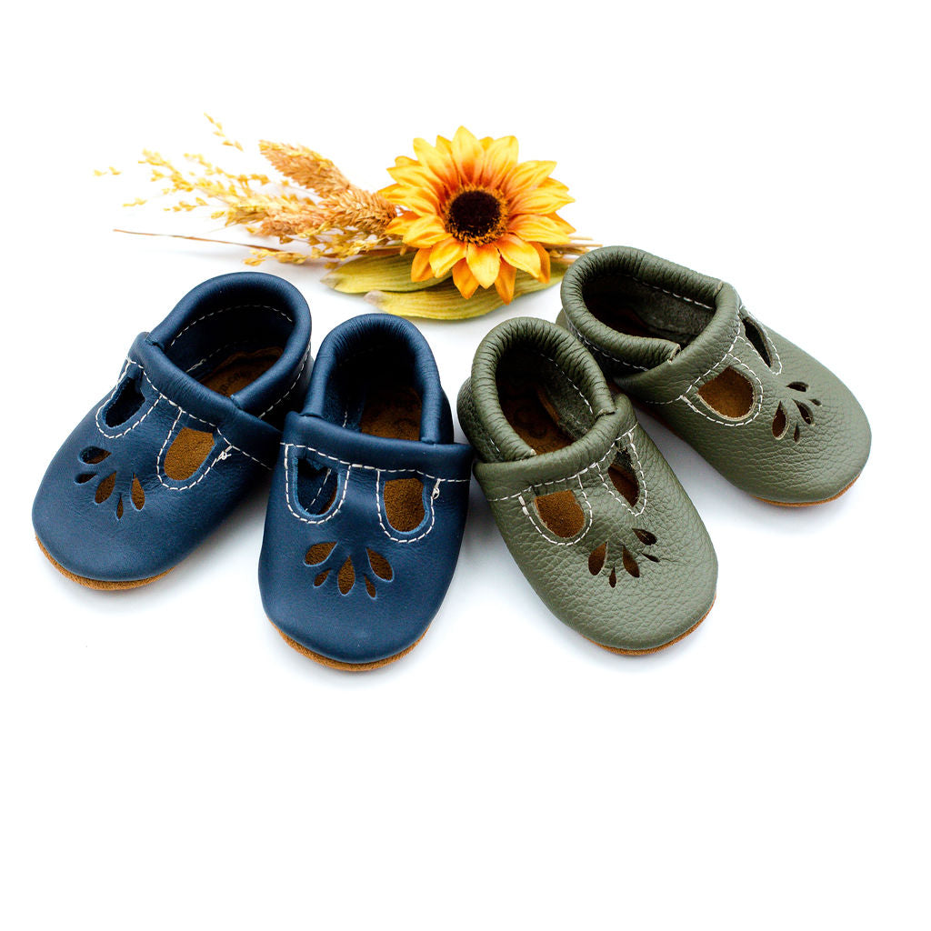 Denim & Moss LOTUS T-strap Shoes Baby and Toddler