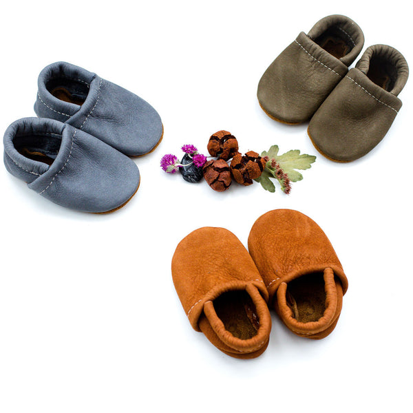 Scotch, Sage & Flint Leather Loafers Shoes Baby and Toddler