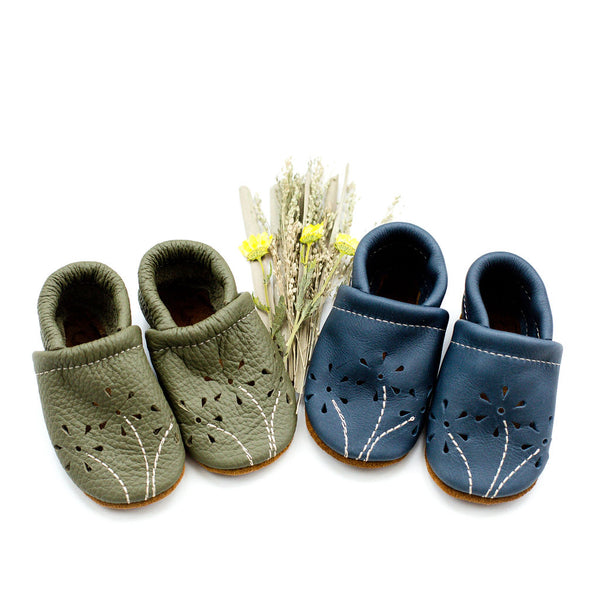 Moss & Denim BLOSSOMS Shoes Baby and Toddler