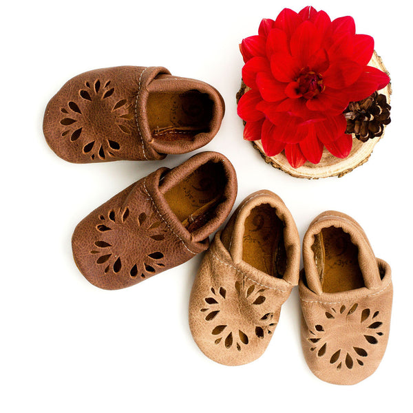 Rust & Wood DAHLIA Shoes Baby and Toddler