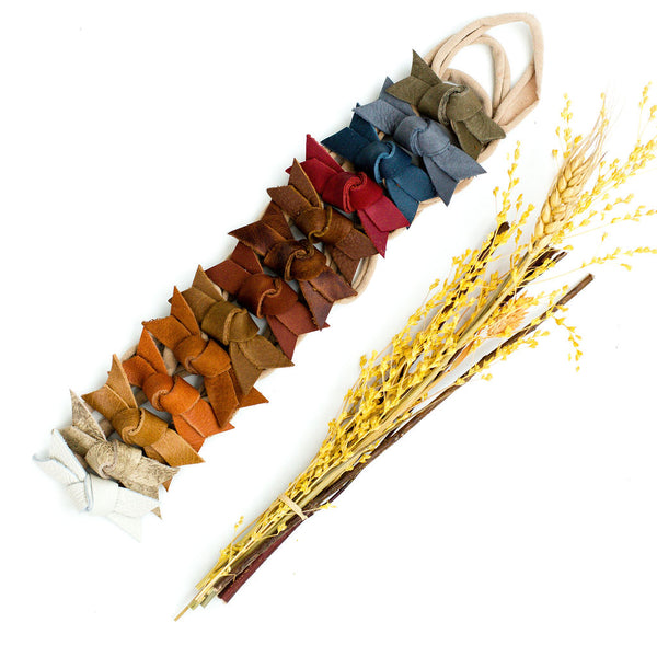 Fall Knotty Jane Bow Headbands// Pick Your Color