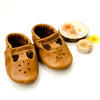 Caramel T-strap Shoes Baby and Toddler