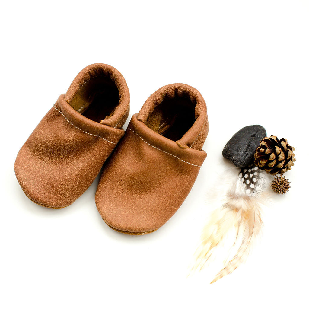 Tribe Leather Loafers Shoes Baby and Toddler