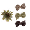 Fall Colors Fan Bow Clip// Pick Your Color