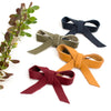 Fall Colors Large Ballet Bow Clip// Pick Your Color
