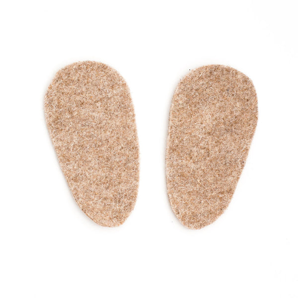 ADD//Natural Wool Insert//Removable wool insole for Any size