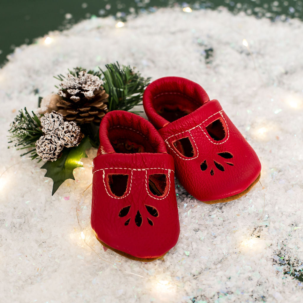 Cherry LOTUS T-Strap Shoes Baby and Toddler
