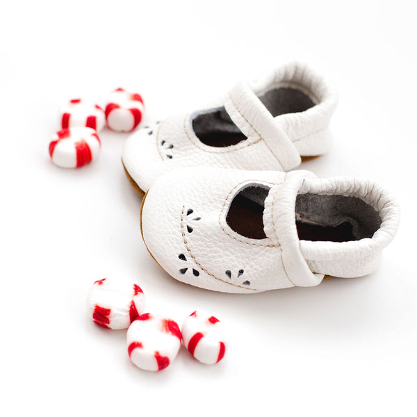 White Ivy Janes Shoes Baby and Toddler