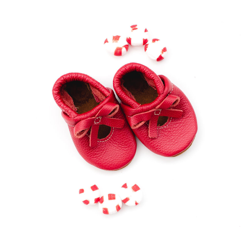 Cherry BALLET BOW FLATS Baby and Toddler