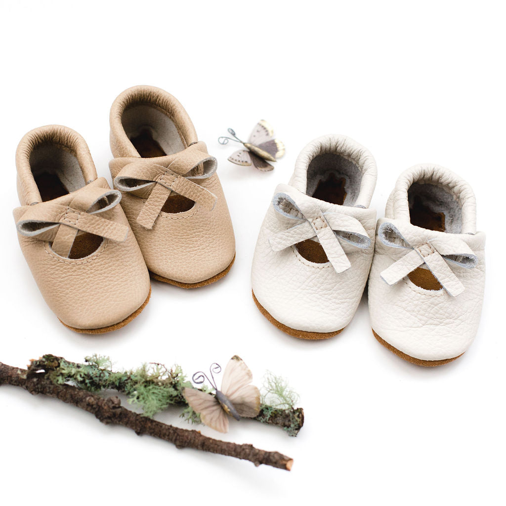 Milk & Barley BALLET BOW FLATS Baby and Toddler