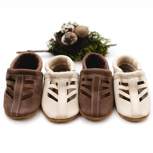 Cream & Carob SEQUOIA SANDALS Shoes Baby and Toddler