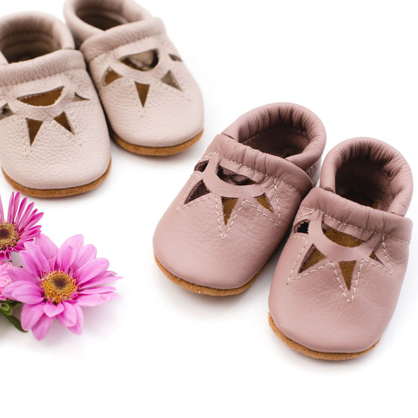 Oyster & Dusty Rose SUNRISE SANDALS Shoes Baby and Toddler
