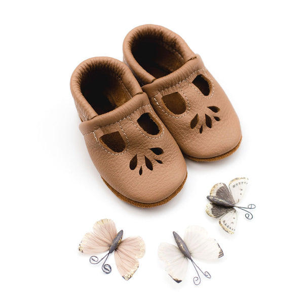 Oat LOTUS T-strap Shoes Baby and Toddler