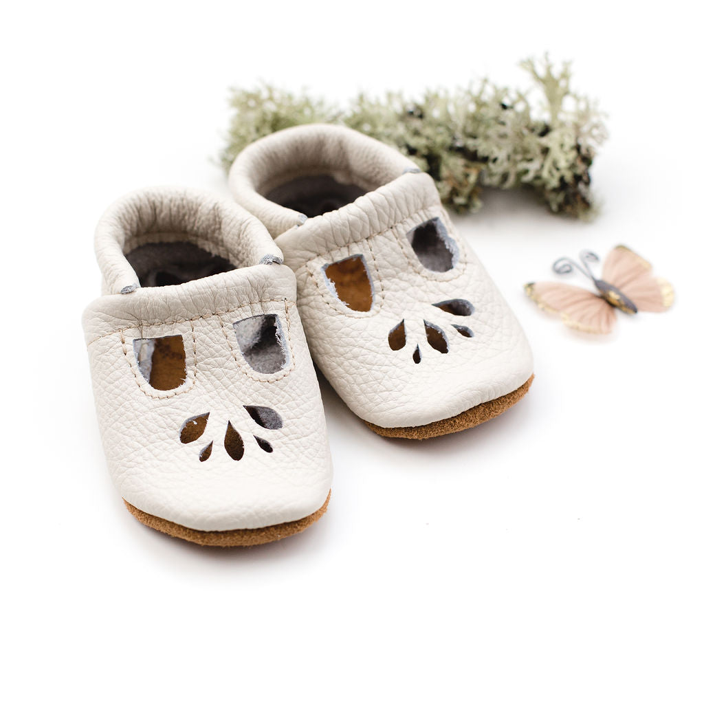 Milk LOTUS T-strap Shoes Baby and Toddler
