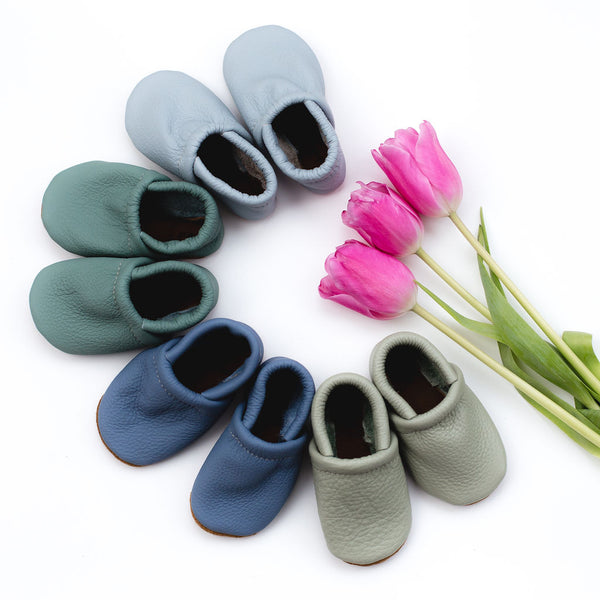 Spring New Leather Loafers Shoes Baby and Toddler
