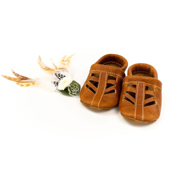 Pecan SEQUOIA Shoes Baby and Toddler