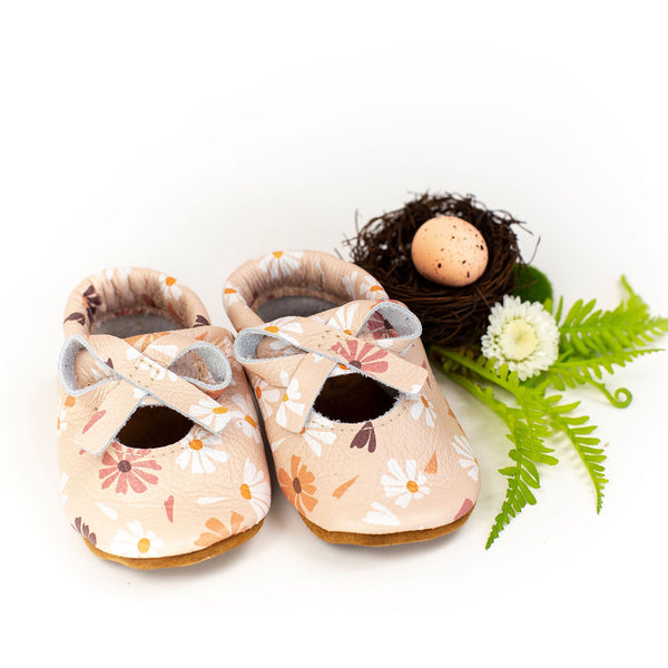 Happy Daisy BALLET BOW FLATS Baby and Toddler