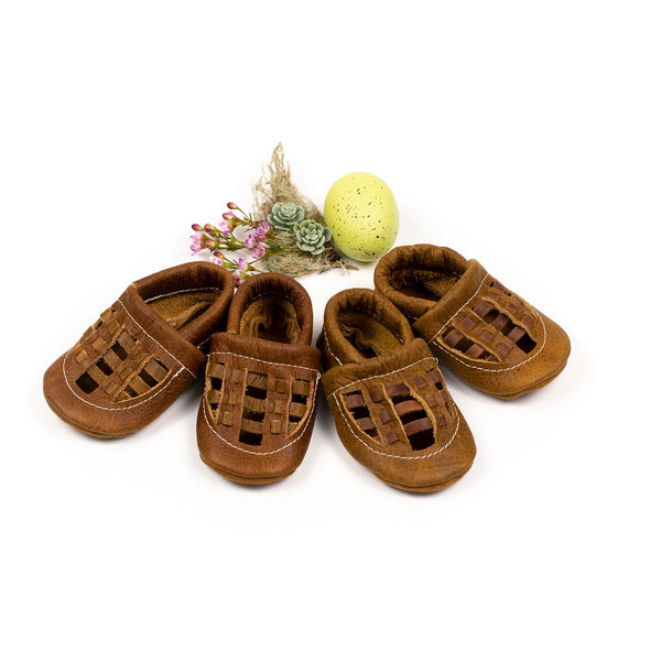 Cocoa & Ginger WOVEN Shoes Baby and Toddler